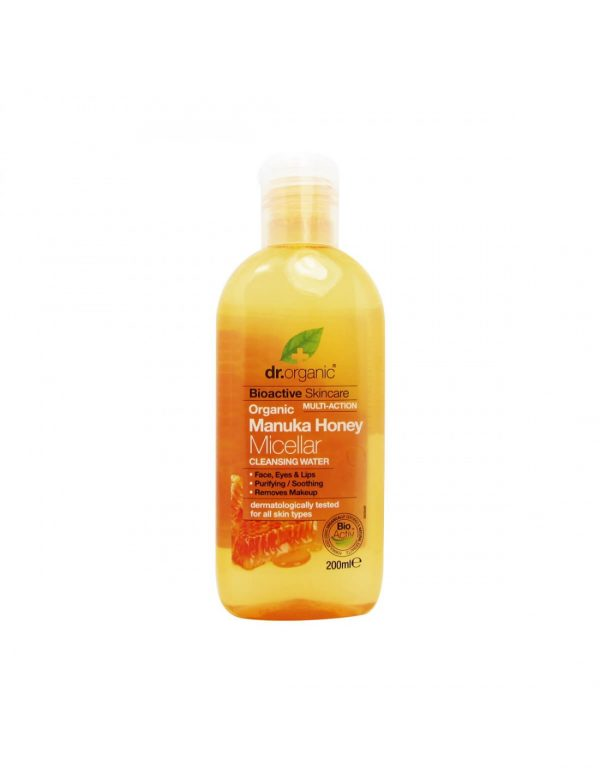 dr.organic manuka honey micellar cleansing water 200ml